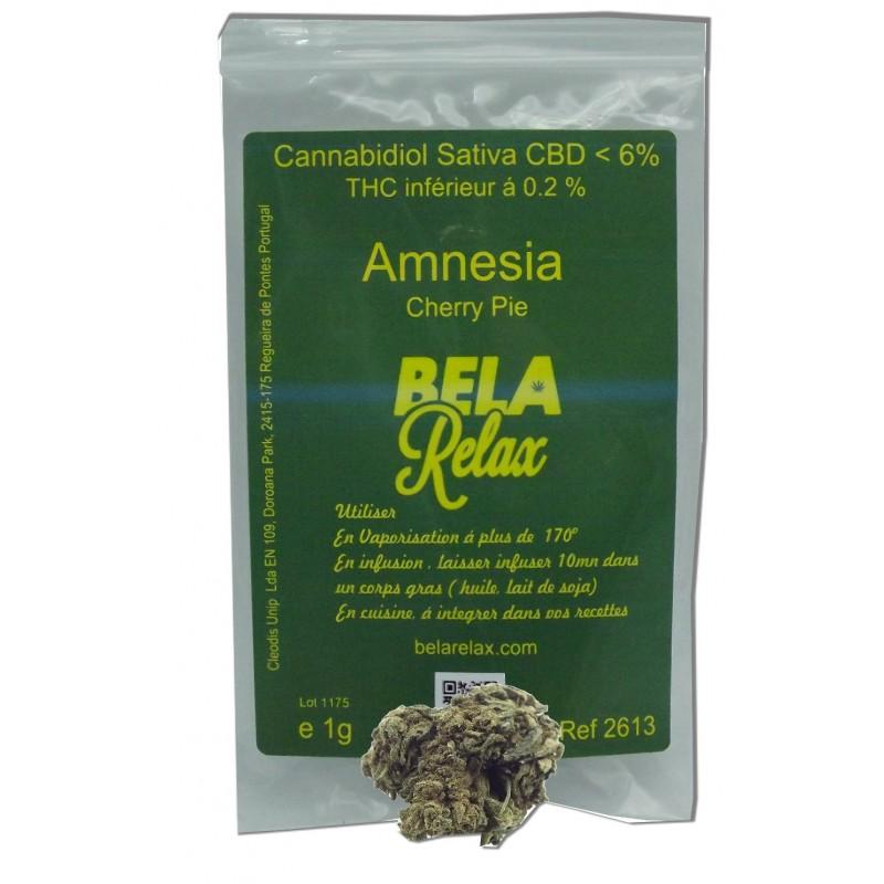 Cherry Pie CBD une fleurs aux arômes de l'Amnesia en coffee shop direct chez vous