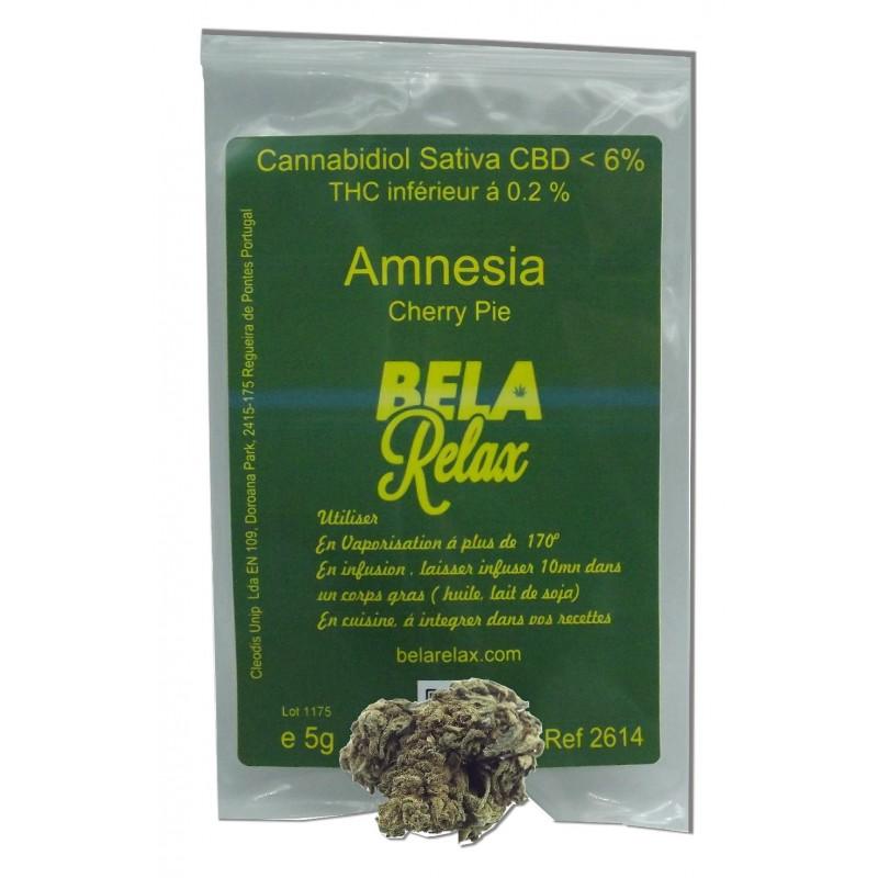 Fleur Cherry Pie aux arômes fruités de l'Amnesia pour des infusions entre amis, vente directe coffee shop