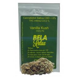 Vanilla Kush pour cette fleur cbd, le parfum du kush en France