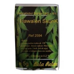 Fini le stress et place à la relaxation avec le Hawaiian skunk en sachet de 5g