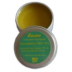 Hydrater son visage, avec un baume aux qualités multiples grâce au CBD. Un baume pour les lèvres.