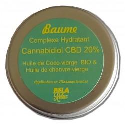 La puissance du CBD dans ce baume hydratant Coco et Chanvre. Réduire les douleurs
