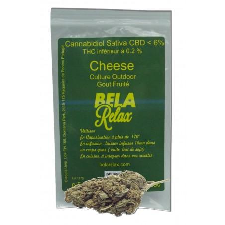 Cheese une fleur cbd pour des arômes particuliers et fruités