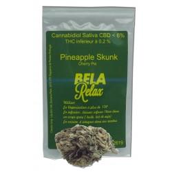 Pineapple skunk la fleur au goût de l'ananas à fumer ou infuser.